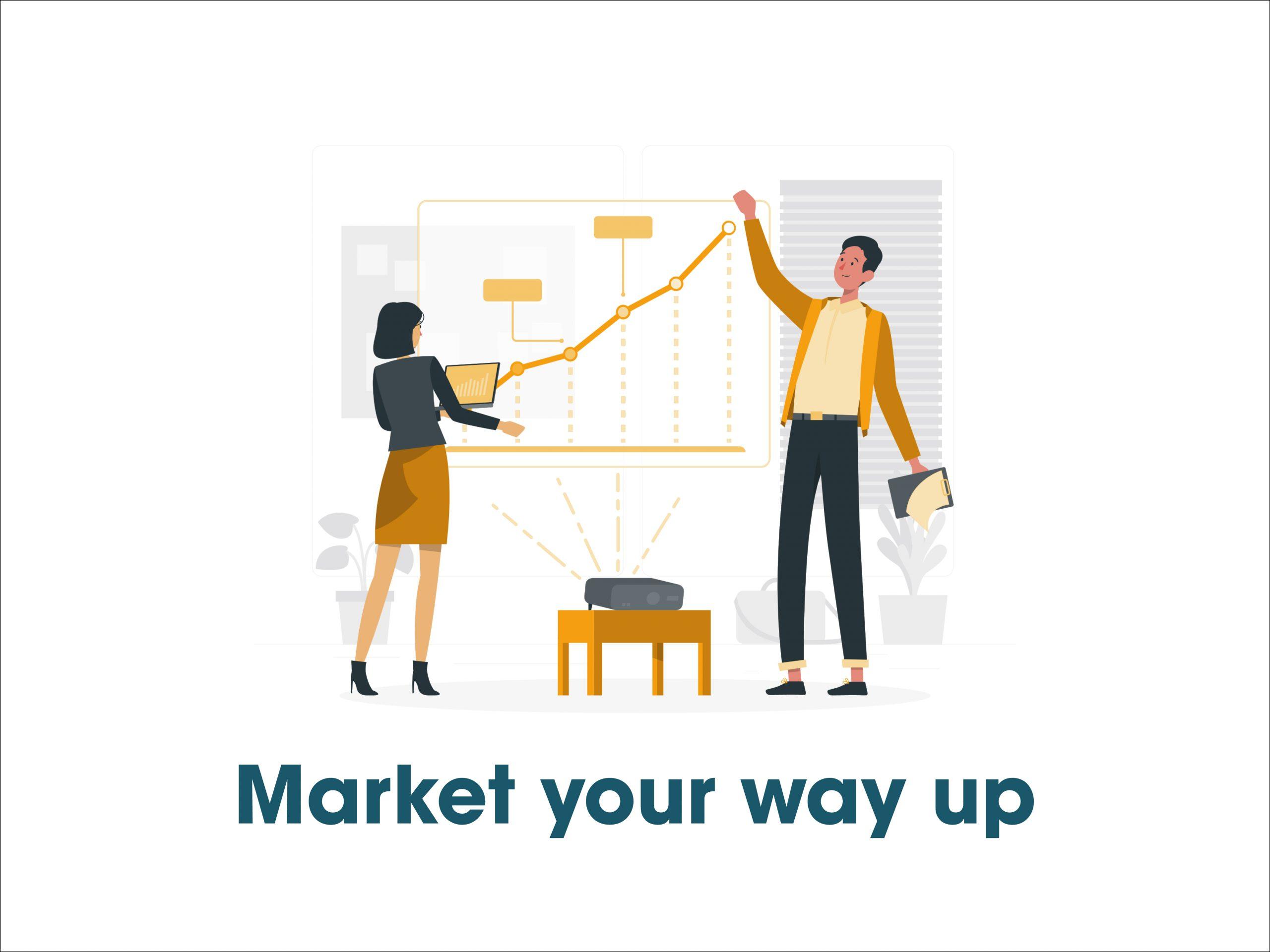 market ur way up in digital marketing