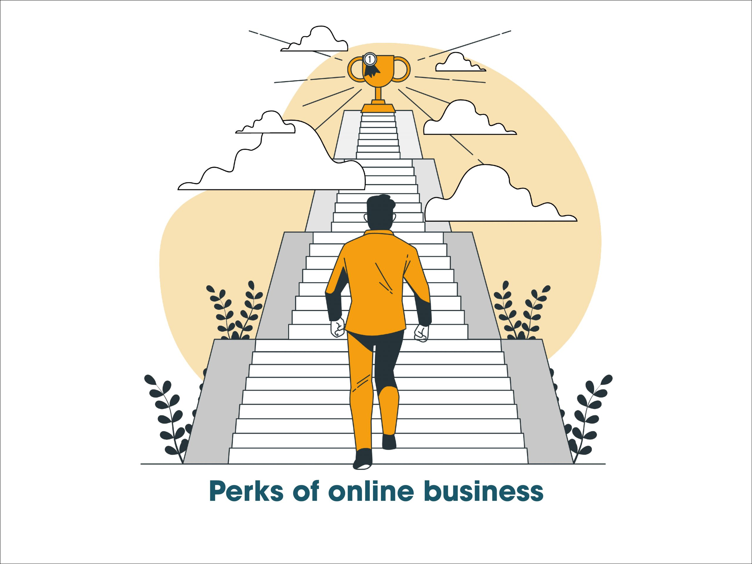 perks of online business