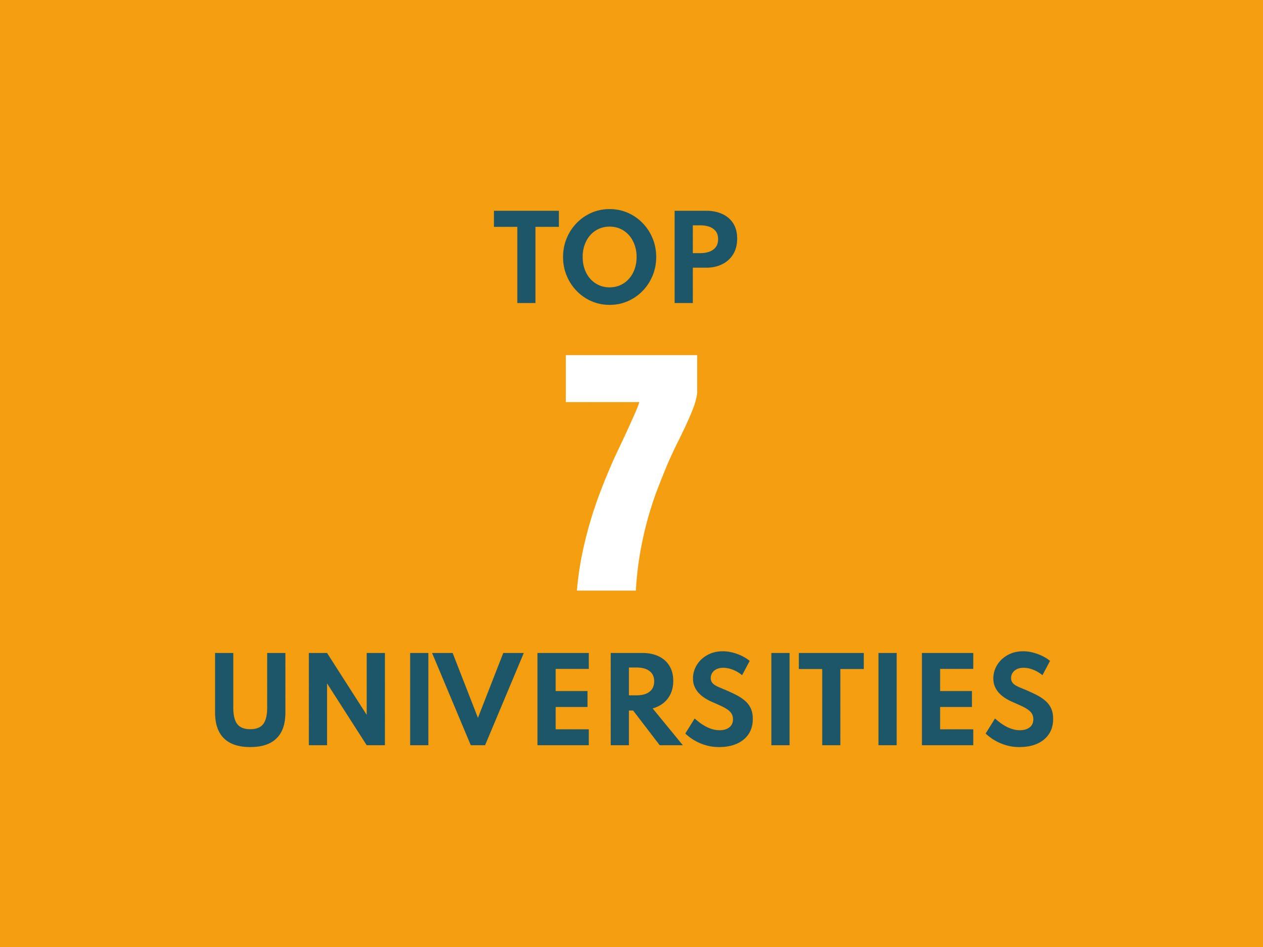 top 7 universities of digital marketing
